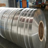 Best Single Side Coated Aluminum Strip Roll 0.2mm Thickness For PPR Pipes Durable wholesale
