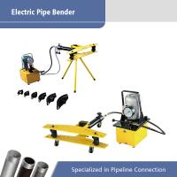 Best Portable Electric Pipe Machine / Hydraulic Pipe Bending Machine wholesale