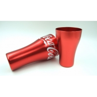 China 750ml Aluminum Drinking Tumblers 4 Color Aluminum Beer Cups for sale