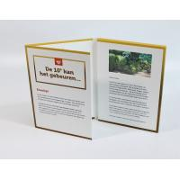 """China 2.8"""" UV Coat 16GB Memory Digital Video Brochure With Videos / Sound for sale"""