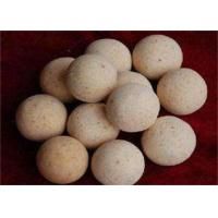 Best 1900 Degree Size 40,50,60 Refractory Ball For Hot Blast Stove , High Temperature Resistance wholesale