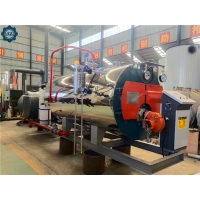 0.5ton - 3 Ton Small Capacity Skid-Mounted Oil Gas Steam Boiler For laundry Center for sale