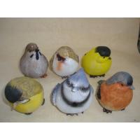 Best Bright Coloured Polyresin Figurine Small Animal Bird Statues Figurines wholesale