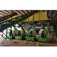 Quality Cow dung fertilizer pellets production line with 1-5T/H capacity wholesale
