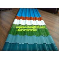 Best 900-1130mm UPVC high strength corrugated round wave roof tile/sheet production line wholesale