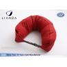 Quality Custom U Shaped Memory Foam Pillows For Travel / Airplane , TUV BS5852 Certification wholesale
