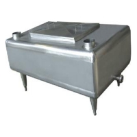 350L Dairy Processing Machinery Stainless Steel Milk Receiving Tank for sale