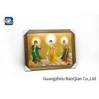 Religion Picture Lenticular Image Printing , 3D Printing Service High Definition for sale