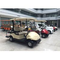 Quality Club Car 4 Seater Golf Carts Dongfeng , Street Legal Electric Cars 3KW Motor wholesale
