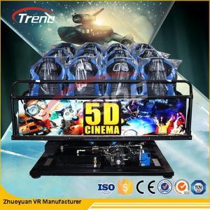 5D Cinema Equipment 70 PCS 5D Movies + 7 PCS 7D Shooting Games