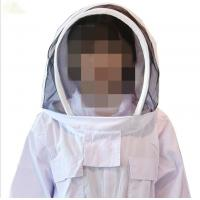 China Customized Bee Sting Proof Clothing , 100% Cotton Beekeeping Jacket And Veil on sale