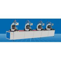 Buy cheap High Precision UPVC Window Machine Durable PVC Plastic Window Four Head Welding from wholesalers