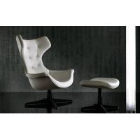 Quality High Back Swan Office Chair , PU Leather Upholstered Arne Jacobsen Swan Chair wholesale