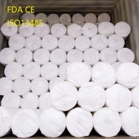 White Sterile 100% Cotton Absorbent Gauze Roll Jumbo Gauze Roll for South Africa local suppliers for sale