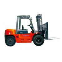 Best Durable Warehouse Lifting Equipment 5 Ton Diesel Forklift With Side Sliding Fork wholesale
