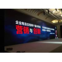Quality P6.25mm Conference LED Screen Display / High Refresh Commercial LED Video Wall wholesale