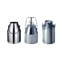 SS304 Stainless Steel Dairy Tanks PDA Milk Collection for sale