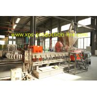Quality Low Density Styrofoam XPS Foam Board Extrusion Line For Construction Foam Board wholesale