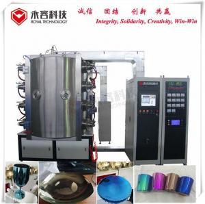China Professional Glass Coating Equipment / Pvd Thin Film Titanium Nitride Coating Equipment on sale