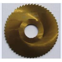 Quality 150mm HSS Saw Blade Stainless Steel Cutter 75Cr1 slitting milling wholesale