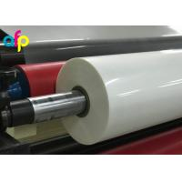 Best High Gloss Laminate Plastic Roll Thickness 15micron to 30micron Shine BOPP Thermal Lamination Film wholesale