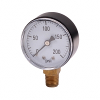 Water pressure gauge with 2 dial face. for sale