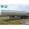 Quality High Capacity Fuel Tanker , 4000L - 6000L Oil Fuel Tanker Semi Trailer wholesale