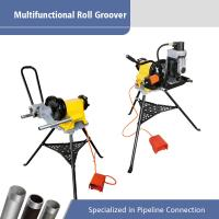 Best Electric Pipe Machine Portable Roll Groover with Multifunctional Power Drive wholesale