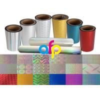 Best Colorful / Transparent Laser Holographic Film With Patterns 180 - 1880mm Width wholesale