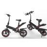 Best Black Lightweight Electric Bike , Foldable Electric Bicycle IP54 Waterproof Grade wholesale