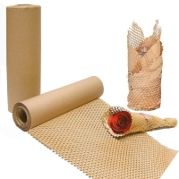 China Uncoated Rectangle 50CM*100M Custom Wrap Paper Roll Eco Friendly for sale