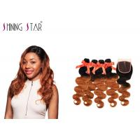 Best Nonremy Body Wave Hair Extensions Human / No Tangle Natural Body Wave Weave wholesale
