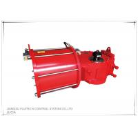 Buy cheap High torque double acting Scotch yoke pneumatic actuator for ball valves from wholesalers