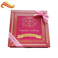 Best Custom Retail Luxury Chocolate Packaging Boxes Logo Printed Paper With Ribbon wholesale