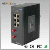 Best 8 Port fast ethernet switch 1.2Mpps Packet forwarding speed , fiber network switch wholesale