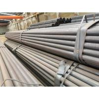 Best Flat End Hot Rolled Steel Round Tube , Pre Galvanized Steel Pipe For Water Gas / Oil wholesale