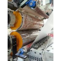 Buy cheap PVC UV Marble Sheet Extrusion Line With 3D Lamination ByTwin Screw Extruer from wholesalers