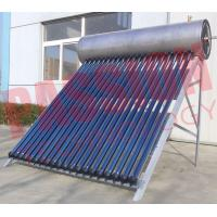 Best Roof Flat Solar Water Heater / Copper Pipe Solar Water Heater For Washing wholesale