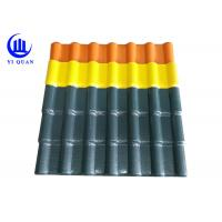 Best Looks Synonymous With Clay Roof Tile Bamboo Synthetic Resin Roof Tile wholesale