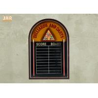 Best Wood Framed Chalkboard Wall Hanging Sign Decorative Wood Wall Pub Sign wholesale