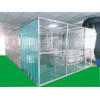 Buy cheap ISO7 Softwall Clean Booth With Anti - Static PVC Curtain Materials Easy from wholesalers