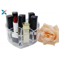 Best Makeup Organizer Acrylic Box , Clear Acrylic Lipstick Organizer For Brushes / Skincare wholesale