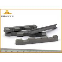Best Hard Alloy Tungsten Carbide Cutting Tools High Bending Strength With High Hardness wholesale