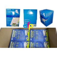 Best Customized Packing 5mil 125micron A4 Glossy PET Polyester Pouch Laminating Film for Documents Photos Protection wholesale
