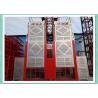 Best 2000kg double cabin 0-63m/min speed passenger and material construction hoist wholesale