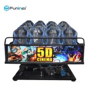 Best 6 DOF Movement 5d Cinema Theater 8D / 9D / Xd Cinema Electric System / Hydraulic wholesale