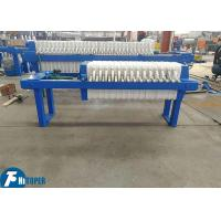 Best Manual Jack Type Chamber Filter Press Small Scale Wastewater Treatment Machine wholesale