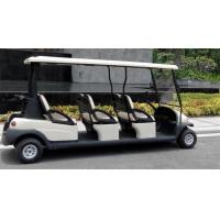 Quality Comfortable Electric 6 Passenger Golf Carts For Mountain Energy Saving wholesale
