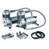 Best 12V Dual  200 PSI Steel Air Ride Suspension Compressor dual tank air compressor wholesale