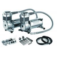 Quality Fast Inflation Silver Steel Dual Air Suspension Compressor  for car 4.5 CFM 150PSI wholesale